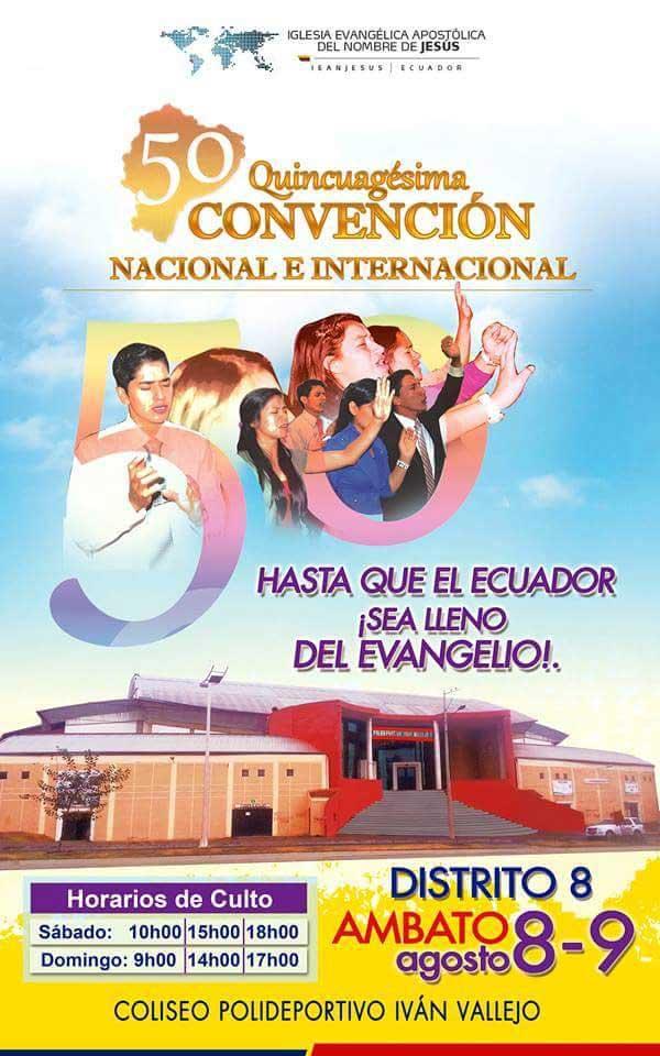 CONVENCIÓN NACIONAL AMBATO 2014 8 y 9 de Agosto